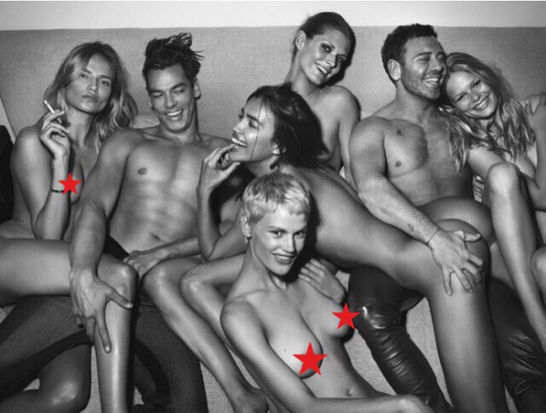 Gambar bugil Model Artis Irina Shayk kekasih Ronaldo